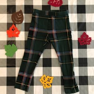 🍁OLD NAVY🍁 Plaid Leggings 3T